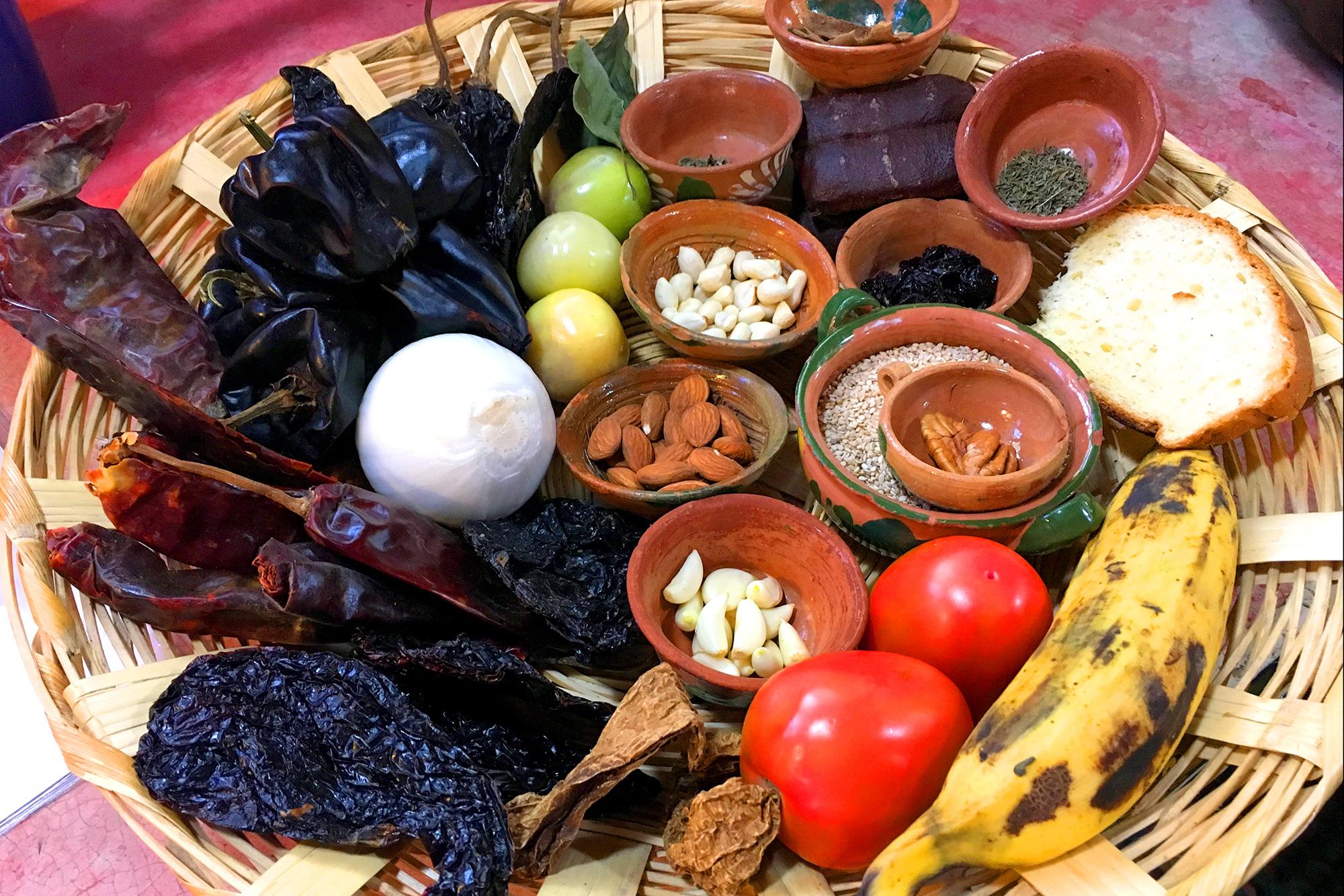 Mole Negro Ingredients