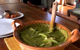 Mole Verde for Lunch